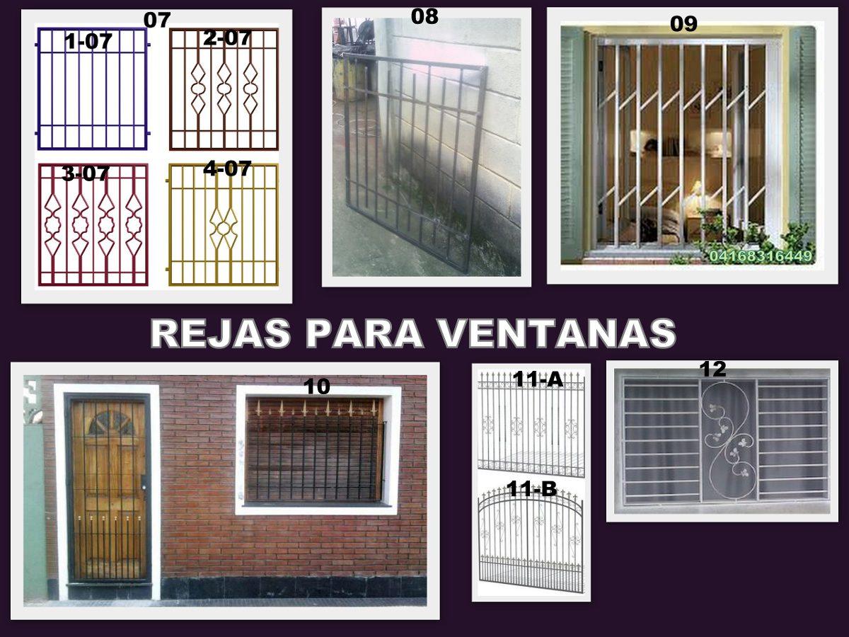 Se fabrican rejas para ventanas bs en - Modelo de rejas ...