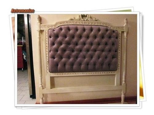 se fabrican respaldo de cama varios modelos antiguos u otros
