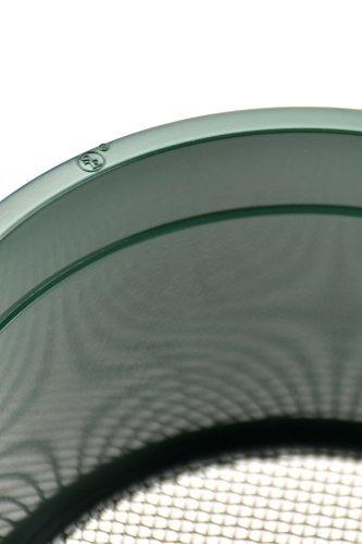 se gp410 55inch mini stackable sifting pan 10 orificiossquar