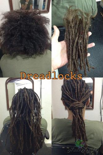se hacen dreadlocks rastas dreads extensiones sinteticas