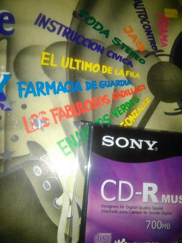 se hacen grabados de discos longplay/cassete a cd en blanco