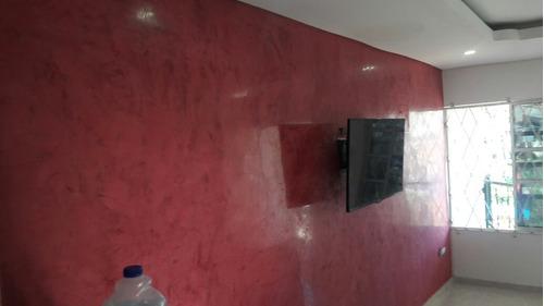 se hacen paredes en venecianos