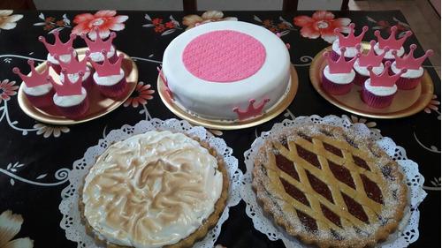 se hacen tortas, tartas y cupcakes