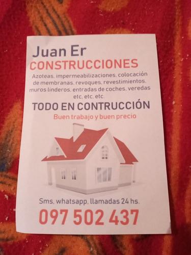 sé hacen trabajos de construcción