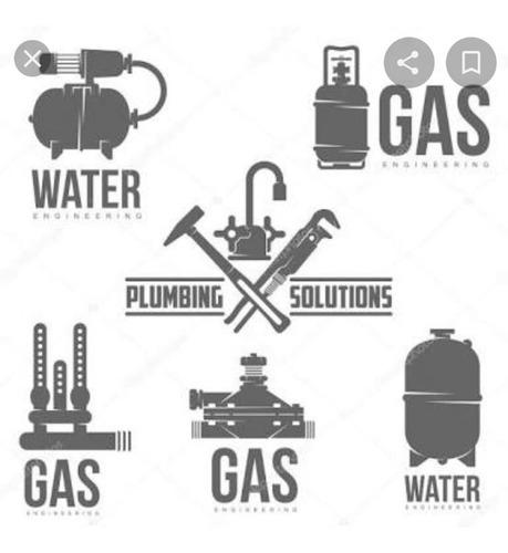 se hacen trabajos de plomería y de gas