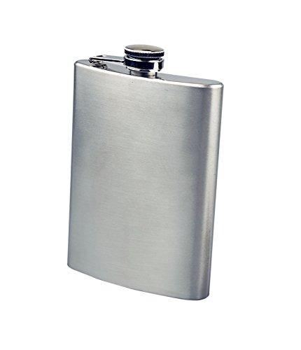 se hq8 acero inoxidable frasco de la cadera, 8 onzas