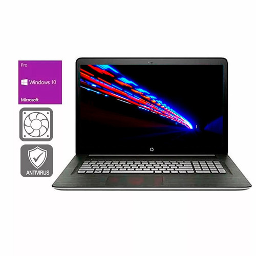s/e laptop hp 17t ci7 dvd 16gb ram  480gb ssd 17.3