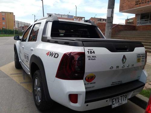 se ofrece camioneta duster orouch 4x4 2019 servicio especial