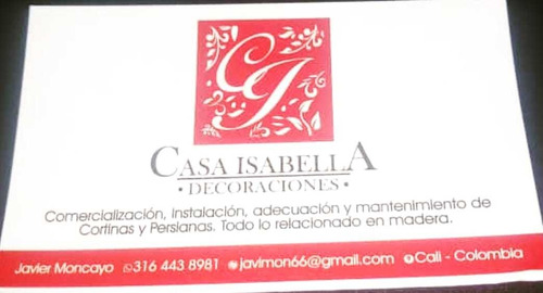 se ofrece todo servicio de carpintería #casaisabella