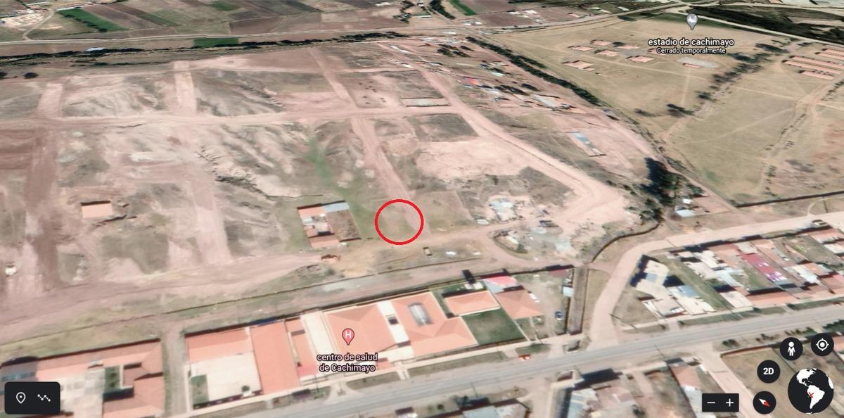 se pone a la venta terreno ubicado en anta, distrito de cach