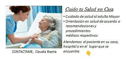 se presta el servicio de cuidado al adulto mayor a domicilio