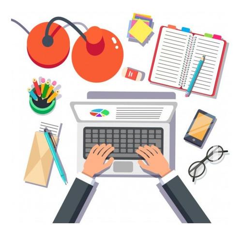 se realiza trabajos educación media y universitaria