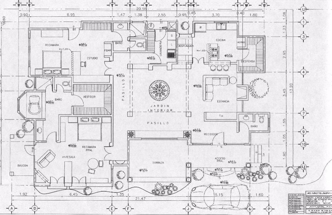 Se realizan dibujos de planos y dise os de arquitectura for Diseno de planos
