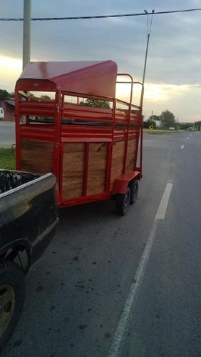 se realizan fletes a todo el pais trailer para 2 caballos