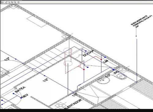 se realizan planos en autocad, replanteo de proyectos