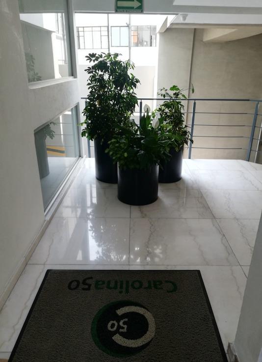 se renta departamento en colonia nápoles (pb, 100 metros