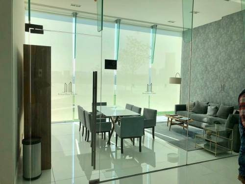se renta departamento en towers bosque real con family
