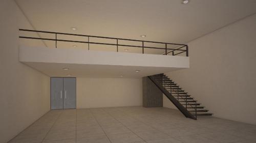 se renta local comercial sobre periférico poniente con mezzanine (segundo piso)
