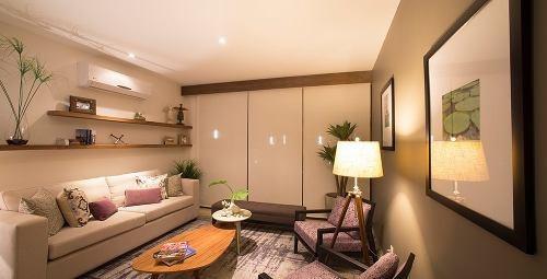 se renta precioso departamento céntrico, 3 recámaras, alberca, terraza, de lujo