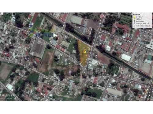 se renta terreno comercial  tizayuca hidalgo 2,500 m² con 130 m. de frente a las calles principales, en el centro a una cuadra de la presidencia municipal, en la calle allende esq alvaro obregon, ide