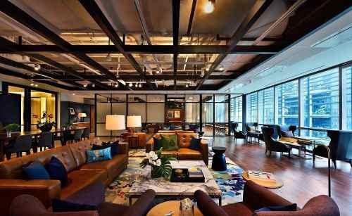 se rentan hermosas oficinas en centro corporativo de alto prestigio