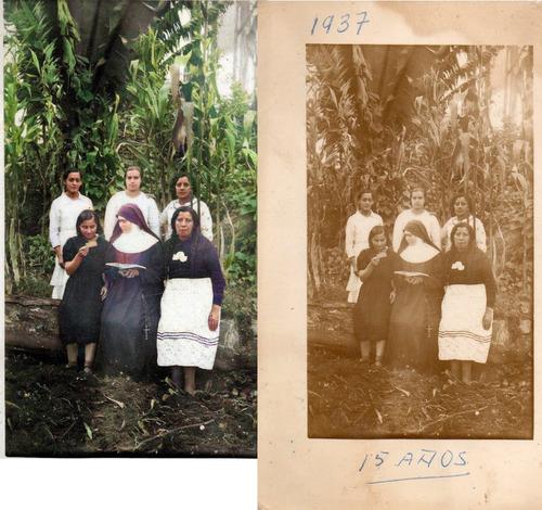 se restauran fotos antiguas con inteligencia artificial