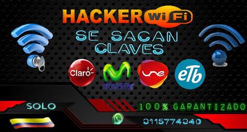 se sacan claves wifi 100% garantizadas.