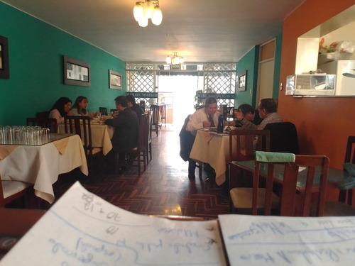 se traspasa negocio de restaurante en funcionamiento