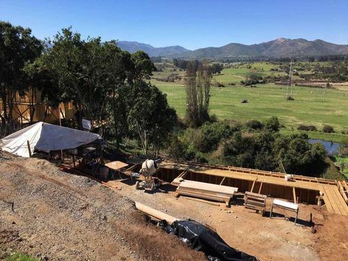 se vende 1 terrenos de 2500 mt2 . campomar 4 con radier y fundaciones lista para comenzar construcción ( con agua y electricidad ) todo por $ 39.000.000