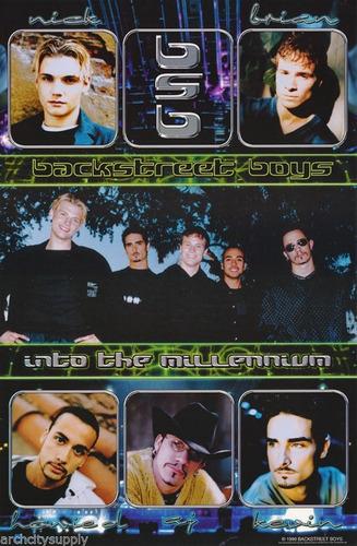 se vende 5 poster originales backstreet boys (winterland)