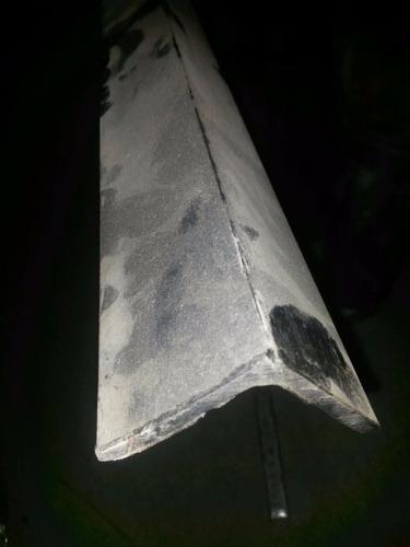 se vende ángulos de 50  siderúrgico hierro negro