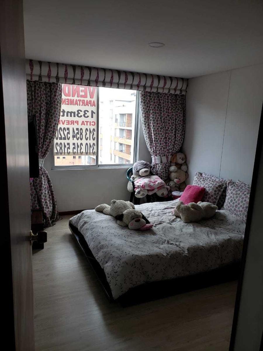 se vende apartamento de 133 m2 en el barrio ciudad salitre