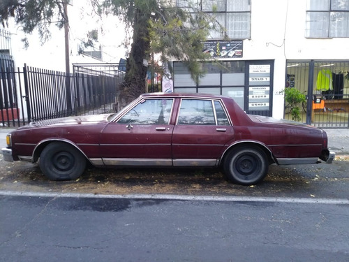 se vende auto chevrolet caprice hard top 4 pts 1981