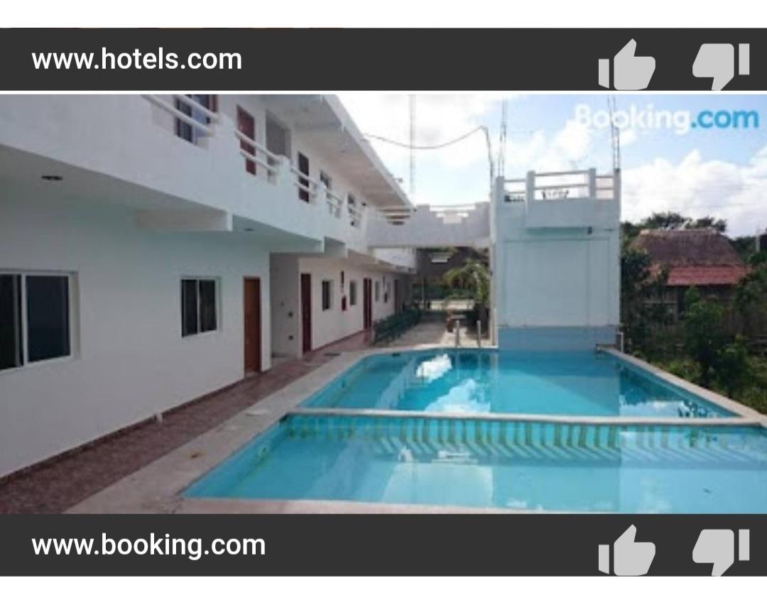 se vende bonito y rentable hotel de 18 habitaciones.