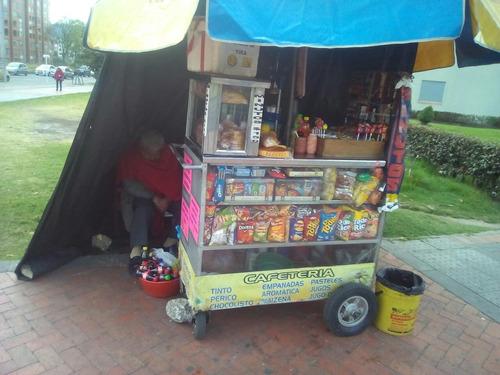 se vende cafetería ambulante