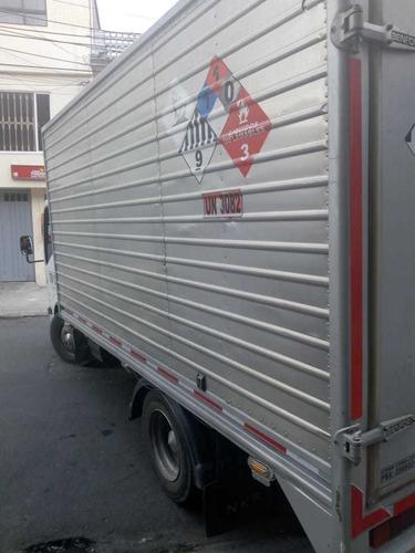 se vende camion chevrolet nhr ii modelo 2012 furgon benfor