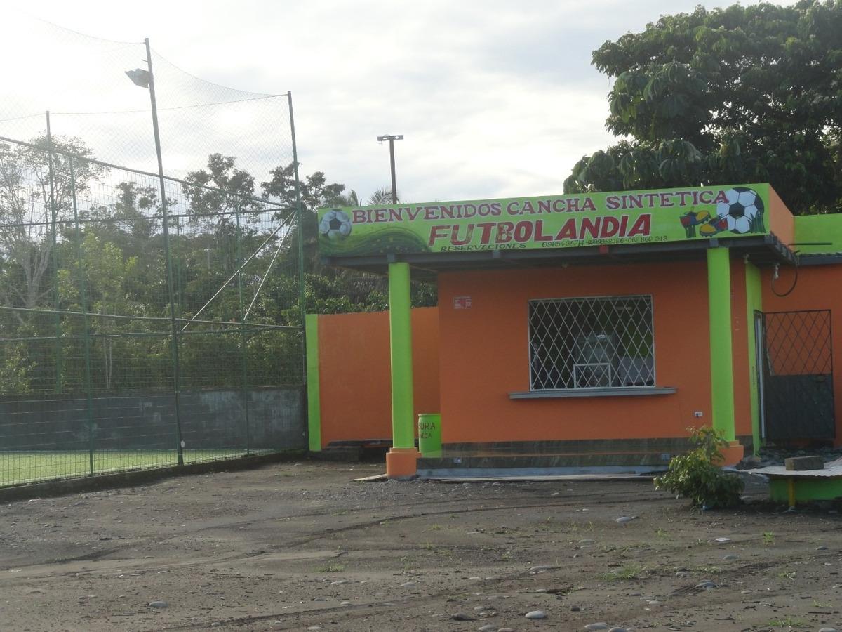 se vende cancha sintetica en san sebastian del coca orellana