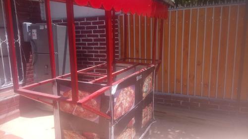 se vende carro de comida rapida para implementar a gusto .