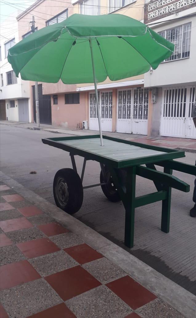 se vende carroza nueva para venta ambulante $230.000 negocia