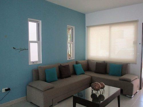 se vende casa 3 hab residencial arrecifes playa del carmen p2149