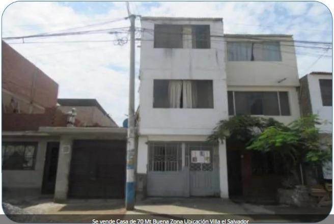 se vende casa de 70 mt buena zona ubicación villa el salvado