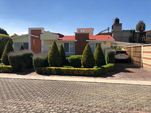 se vende  casa de una planta en san salvador tizatlalli