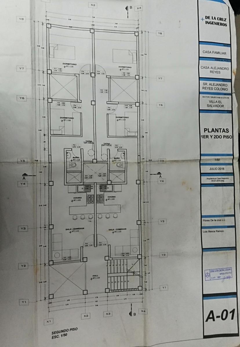 se vende casa en construcción