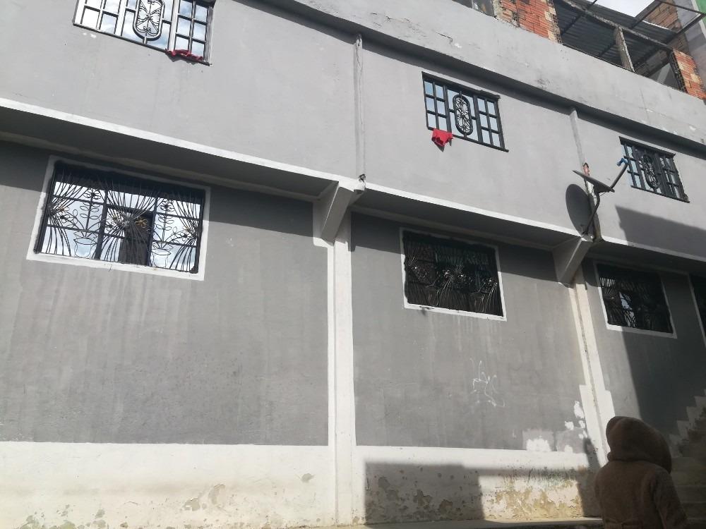 se vende casa esquinera  de 6*12  de tres pisos rentable