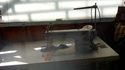 se vende compresor de tres cabezas y máquina de coser indust