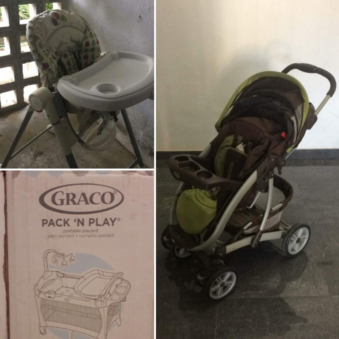 143667bde se vende corral, silla de comer y coche todos marca graco. Cargando zoom.