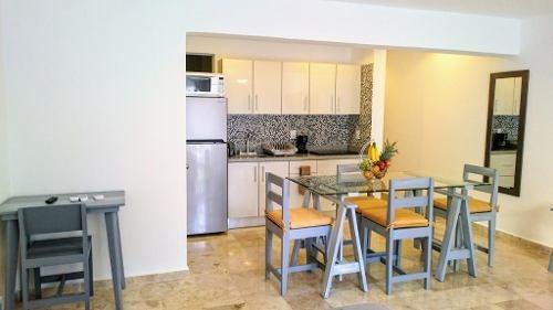 se vende de oportunidad departamento tipo estudio en el condominio 5ta. coral,  playa del carmen p28