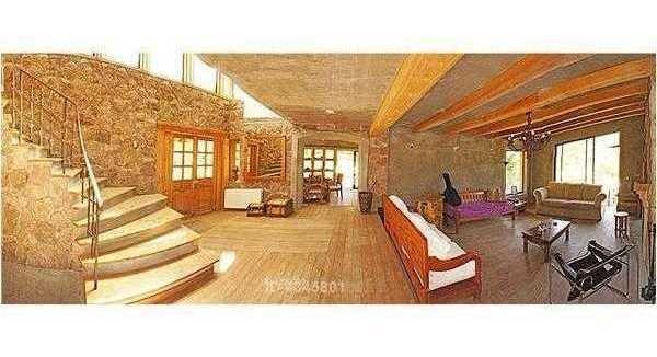 se vende espectacular casa de dos pisos en parcela, sector miraflores, curacaví