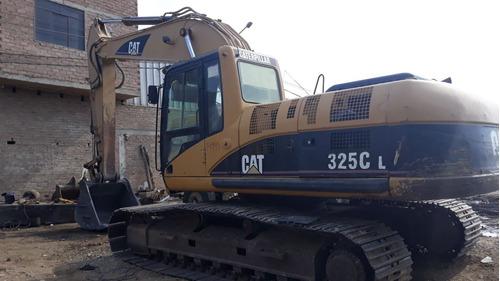 se vende excavadora 2006  325cl