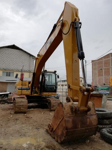 se vende excavadora caterpillar 320d 2007